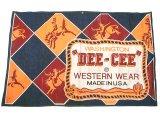 WASHINGTON DEE CEE Western Wear Denim Banner 1960'S デニム・バナー