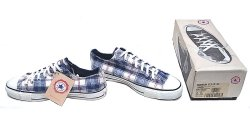 画像1: Deadstock 1994-95'S CONVERSE SHADOW PLAID チェック・ネル素材 USA製 箱付