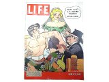 "LIFE  March.31, 1952 ""AL CAPP"" American Weekly Magazine ライフ・マガジン"