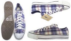 画像3: Deadstock 1994-95'S CONVERSE SHADOW PLAID チェック・ネル素材 USA製 箱付