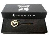 Deadstock 2007'S Converse Chevron & Star Pins シェブロン&スター ピン 箱付