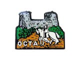 """Vintage Pins(ヴィンテージ・ピンズ)#0153 """"OCTA """" Pins  Made in France"""
