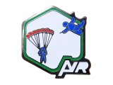 """Vintage Pins(ヴィンテージ・ピンズ)#0184  """"AIR Green"""" Pins Made in France"""