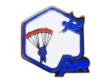 """Vintage Pins(ヴィンテージ・ピンズ)#0183  """"AIR Blue"""" Pins Made in France"""