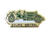 """Vintage Pins(ヴィンテージ・ピンズ) #0277 1990'S""""ECURIE MISTRAL"""" France"""