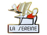 "Vintage Pins(ヴィンテージ・ピンズ) #0300  ""LA SEREINE"" Made in France"