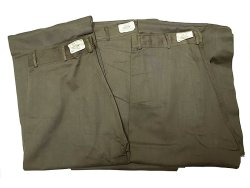 画像1: Deadstock 1940'S US.NAVAL CLOTHING FACTORY Utility Trousers CHL W30