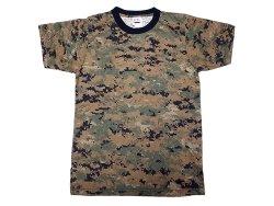画像1: Deadstock 1990'S U.S.SPEC Digital CamouflageTee デジカモ Tシャツ アメリカ製