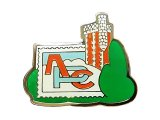 """Vintage Pins(ヴィンテージ・ピンズ) #0311  1990'S """"APC CASTLE """"  France"""