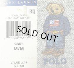 画像5: POLO BEAR by RALPH LAUREN  ポロ・ベアー ポロシャツ 灰 ラルフ・ローレン