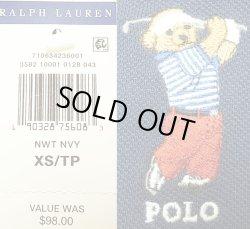 画像5: POLO BEAR by RALPH LAUREN  ポロ・ベアー ポロシャツ 紺 ラルフ・ローレン