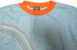 画像3: Deadstock 1960-70'S VANDERBILT Long Sleeve Tee 虹刺繍 ロンT アメリカ製