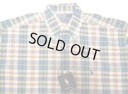 画像4: POLO Ralph Lauren BLAKE Madras H/S B.D.Shirts ラルフ マドラス半袖 BDシャツ