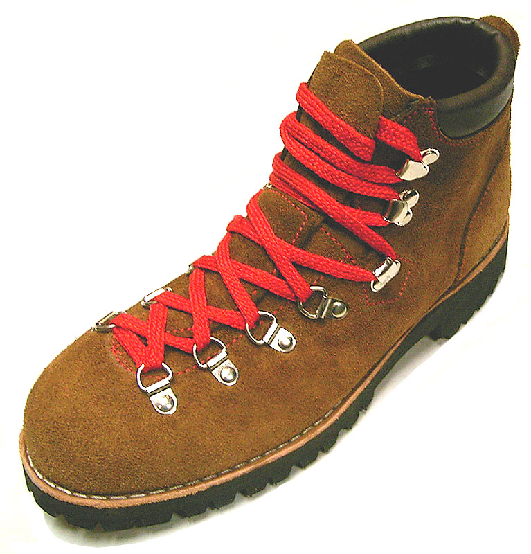 Deadstock 1970-80'S Step Master 5850 Rust Suede Hiking