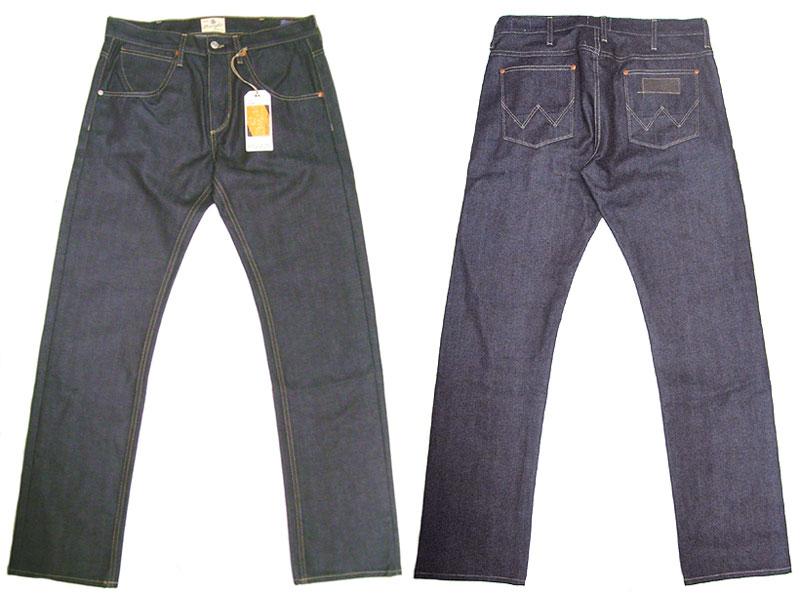 wrangler blue bell eddy rigid selvedge denim jeans made in usa luby 39 s. Black Bedroom Furniture Sets. Home Design Ideas