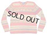 POLO by Ralph Lauren Ethnic Sweater ポロ・ラルフ シルク×リネン セーター