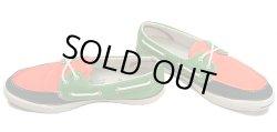 画像1: CONVERSE Jack Purcell Boat Shoes Multi-Color 橙×紺×緑  USA限定 箱ナシ