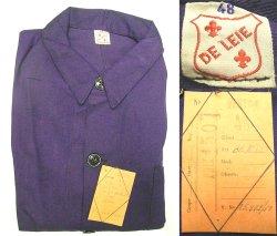 画像5: Deadstock 1950'S DE LEIE European Work JK 紺カツラギ ワークJK EU製
