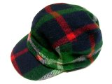 RUGBY by Ralph Lauren Melton Plaid Outdoor Cap  メルトン 耳当付 キャップ