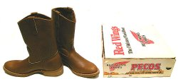 画像1: Deadstock 1982-1987'S RED WING 1155 Pecos Boots ペコス USA製 箱付