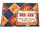 WASHINGTON DEE CEE Western Wear Denim Banner 1960'S デニム・バナー
