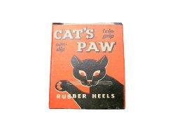画像1: Deadstock 1950-70'S CAT'S PAW SCOOP RUBBER HEELS キャッツ・パウ