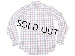 画像1: J.CREW LIGHT WEIGHT B.D Shirts 赤紫×青×紺×白 ギンガム・ボタンダウン