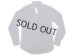 画像1: J.CREW Oxford B.D Shirts Cotton Flannel チャコール・グレイ ボタン・ダウン
