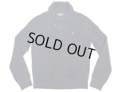 画像1: POLO by Ralph Lauren Shawl Collar Sweat Shirts  ショールカラー スウェットシャツ 紺