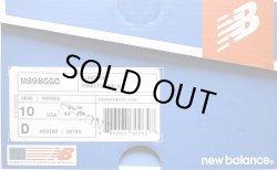 画像2: New Balance M998GGO グレイ×チャコール×オレンジ Made in USA 箱付