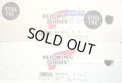 画像2: Deadstock 2002-2003'S RED WING 4418 STEEL TOE(ANSI PT99) 8inch茶ロガー