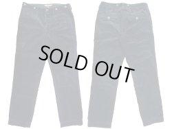 画像1: RUGBY Ralph Lauren Corduroy Work Trousers 黒 太畝コーデュロイ Vintage加工