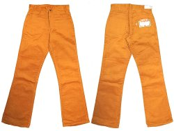 "画像2: Deadstock 1970'S LEVI'S 607 BIG""E"" BELL BOTTOMS 別珍コーデュロイ USA製"