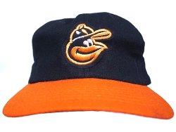 画像1: Deadstock 1973-75'S Baltimore Orioles MLB Baseball Cap デッドストック USA製