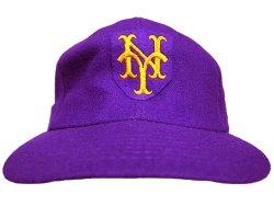 画像1: Deadstock 1973-75'S New York Mets MLB Baseball Cap デッドストック USA製