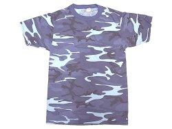 画像1: Deadstock 1980-90'S Midnight-Camo T ミッドナイト・カモ Tシャツ アメリカ製