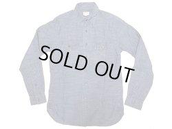 画像1: J.CREW Indigo Work Shirts ストライプ織生地 ジェイ・クルー インディゴ・シャツ