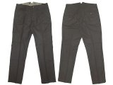 WALLACE & BARNES  Italian Melton Wool Work Trousers Charcoal  Gray