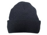 Deadstock 2000'S US.Military Watch Cap 100% Wool 米軍ニット・キャップ 黒