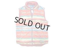 画像2: POLO Ralph Lauren Native Vest ポロ・ラルフ 中綿 ネイティヴ柄 ベスト フード付