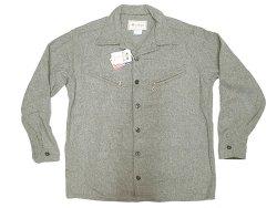 画像1: Deadstock 1980-90'S Melton Outer Wear メルトン CPO JK 灰ウール Made in USA