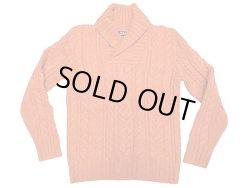 画像1: POLO Ralph Lauren Cable Shawl Collar Sweater ケーブルショールカラーセーター
