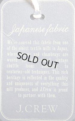 画像3: WALLACE & BARNES by J.Crew Twill Baseball JK Navy Japanese Fabric