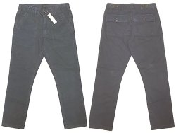 画像1: J.CREW Baker Pants Navy SLIM FIT ジェイ・クルー ベイカー・パンツ Vintage加工