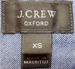 画像4: 【期間限定45%OFF】J.CREW  2tone Oxford B.D Shirts 切替 前開き 半袖シャツ