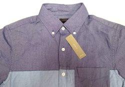 画像3: 【期間限定45%OFF】J.CREW  2tone Oxford B.D Shirts 切替 前開き 半袖シャツ
