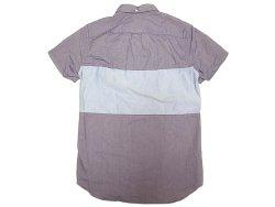 画像2: 【期間限定45%OFF】J.CREW  2tone Oxford B.D Shirts 切替 前開き 半袖シャツ