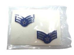 画像2: Deadstock 1984'S US.AIR FORCE SARGENT E-4 米軍実物 ピン・バッジ 袋入
