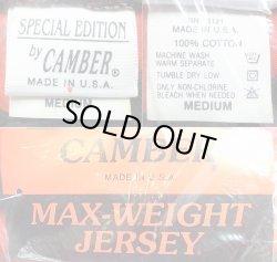 画像3: Deadstock 1990'S CAMBER MAX-WEIGHT Tシャツ 赤×黒  アメリカ製 袋入
