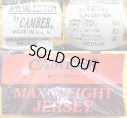 画像5: Deadstock 1990'S CAMBER MAX-WEIGHT Tシャツ 黄×紺  アメリカ製 袋入